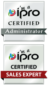 Ipro certifications - sales expert and administrator