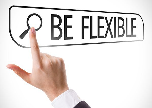 be flexible with project resources
