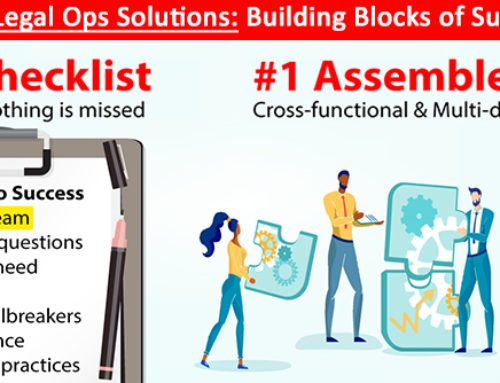 Evaluating Legal Ops Solutions: 1st, Assemble a Team