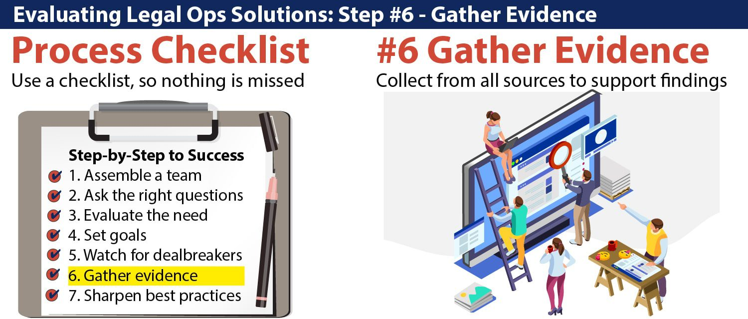Evaluating-Legal-Ops-Solutions_Step#6_Gather-Evidence-Feature-Pic